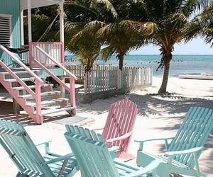 beach, pastel, and san junipero image
