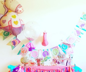 magic, party, and unicorn image