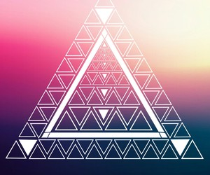 pretty colors, xD, and triangle image