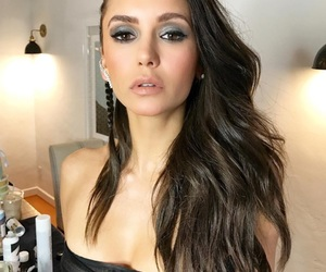 Nina Dobrev, beauty, and tvd image