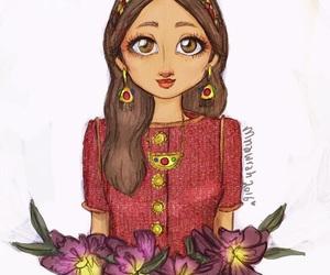 arabic, art, and cartoon image