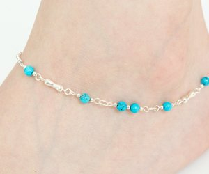 bracelet, handmade jewelry, and anklet image