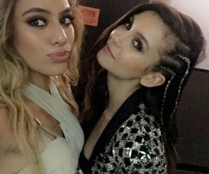 Nina Dobrev, american music awards, and fifth harmony image