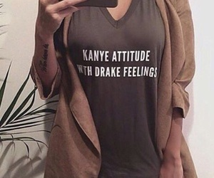 fashion, Drake, and kanye image
