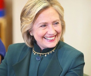 beautiful, Hillary Clinton, and red lips image