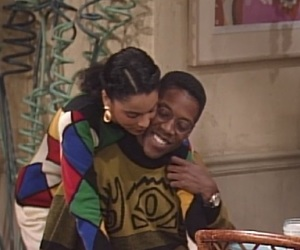 couple, a different world, and dwayne and whitley image