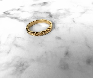 gold, jewellry, and marble image