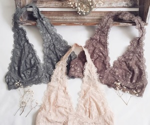 fashion, lace, and outfit image
