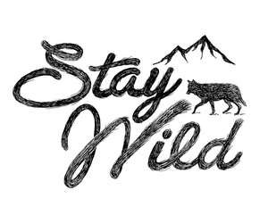 art, mountain, and stay image