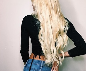 hair, pia mia, and blond image