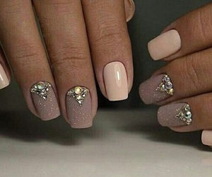 nails, manicure, and nail art image