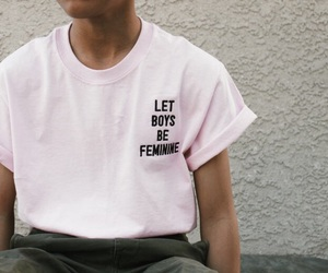 boy, clothes, and pink image