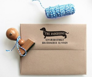 etsy, rubber stamp, and housewarming gift image