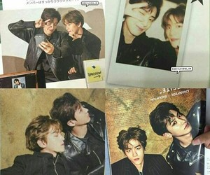 exo, magazine, and chanbaek image