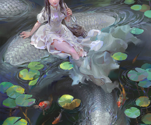 fantasy, anime, and art image