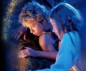 peter pan, wendy, and movie image