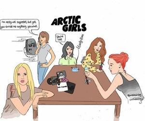 arctic monkeys, arabella, and girls image