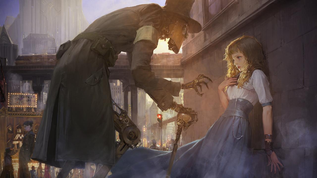 Image de art, fantasy, and girl