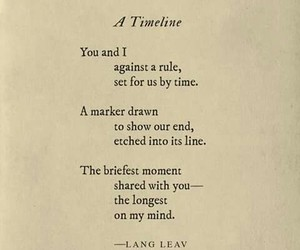 poetry, universe, and langleav image
