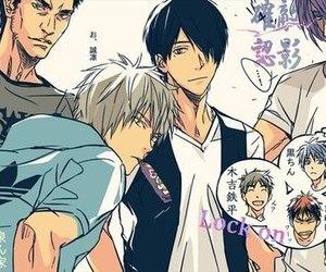 anime, manga, and kuroko's basketball image