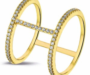 double ring and gold image