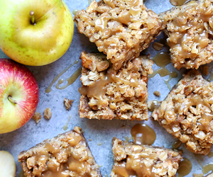 apple, bars, and crumble image