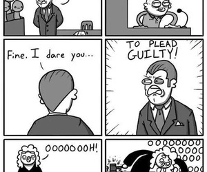 funny, lol, and court image