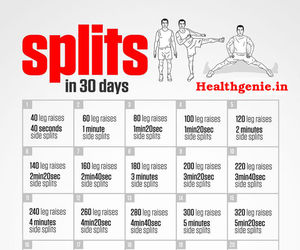 exercise, fitness, and splits image