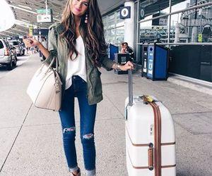 traveling style and luggage image
