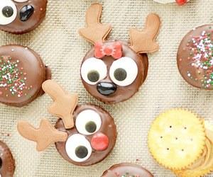 christmas, food, and chocolate image
