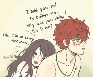 707, mystic messenger, and Mc image
