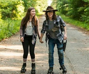 the walking dead, twd, and enid image