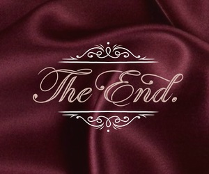 burgundy, classy, and ending image