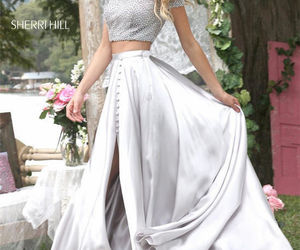 two piece prom dresses image