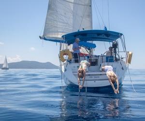 beautiful, boat, and Greece image