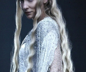 the hobbit, galadriel, and elf image