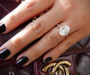 engagement, jewelry, and ring image