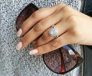 engagement, ring, and rings image
