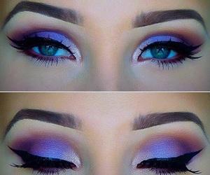 eyes, beautyful, and inspiration image