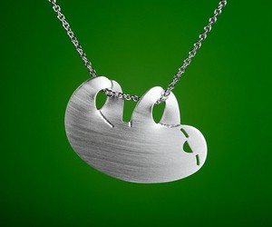necklace and sloth image