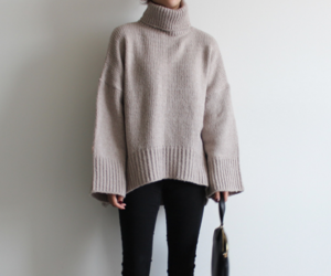 fashion, sweater, and winter clothes image