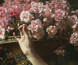 art, beautiful, and floral image