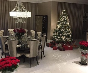 christmas, home, and luxury image
