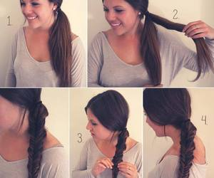 hair, hairstyle, and hairstyles tutorials image