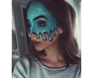 blue, girl, and Halloween image