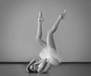 ballerina, ballet, and dress image