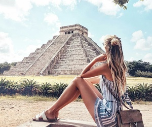 girl, travel, and mexico image