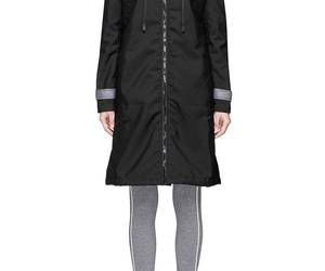 fashion and colorblock hooded jacket image