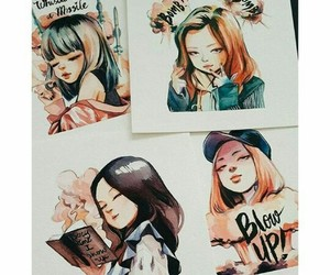 fan art, kpop, and blackpink image