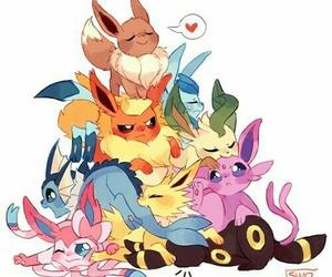 pokemon, eevee, and anime image